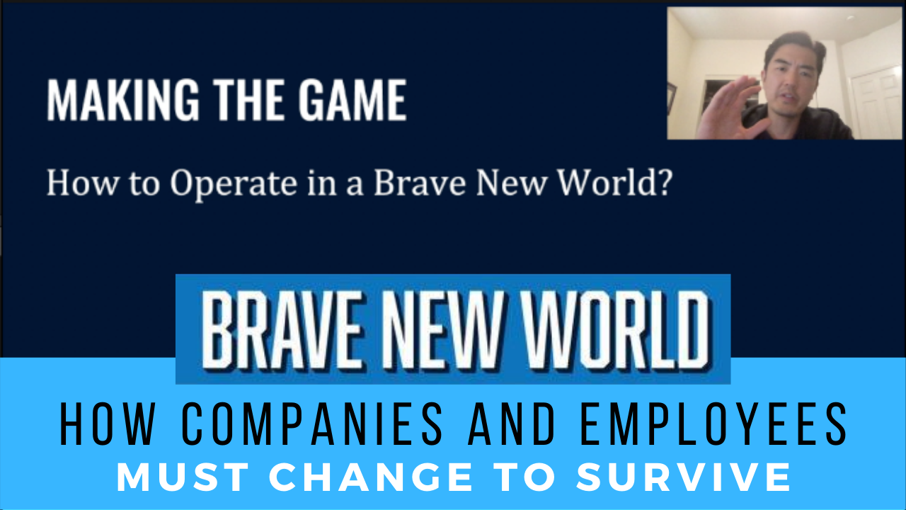 How to Operate in a Brave New World