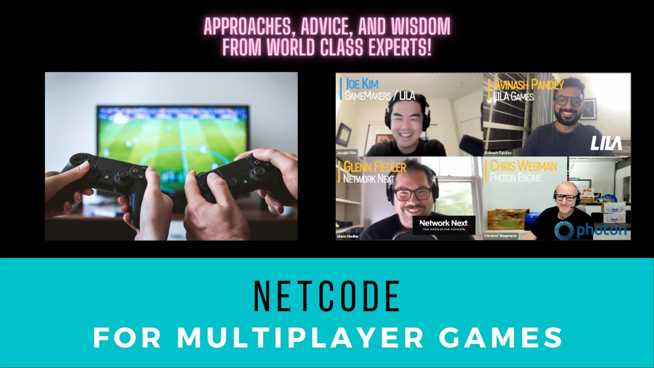 Netcode for Multiplayer Games