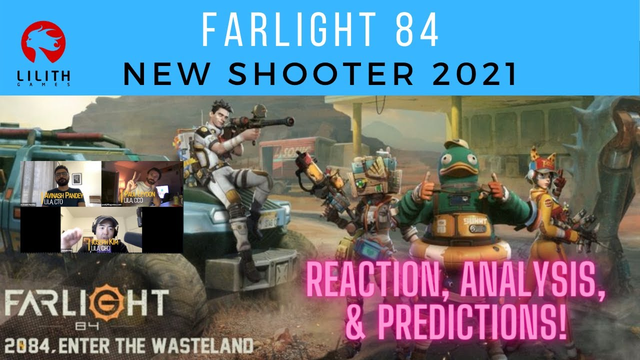 Farlight 84 – New FPS Shooter in 2021 | Reaction & Analysis
