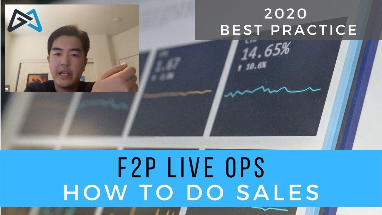 Liveops – F2P Sales Best Practices
